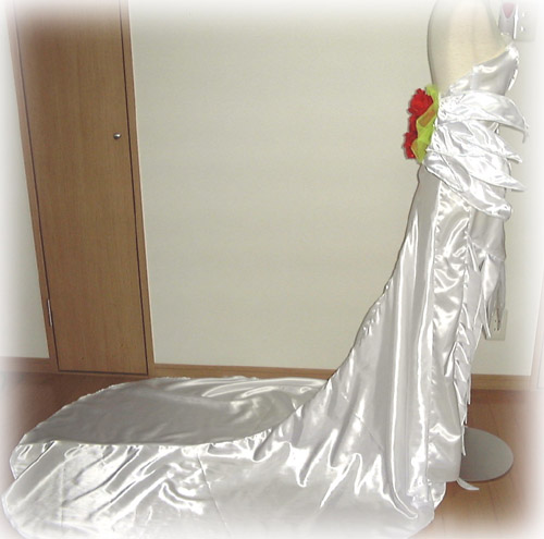 コスプレ衣装:ユウナウエディングドレス