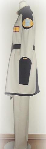 コスプレ衣装:ガンダムSEED ザフト軍ラウ・ル・クルーゼ