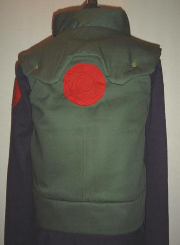 コスプレ衣装:NARUTO-ナルト-木の葉 インナー&ベスト