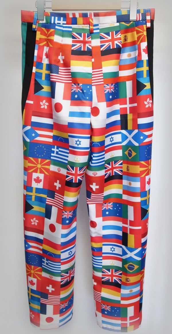 ソナーポケット/ソナポケ Sonar Pocket国旗柄パンツ