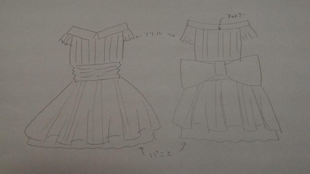 衣装お見積もり方法の補足